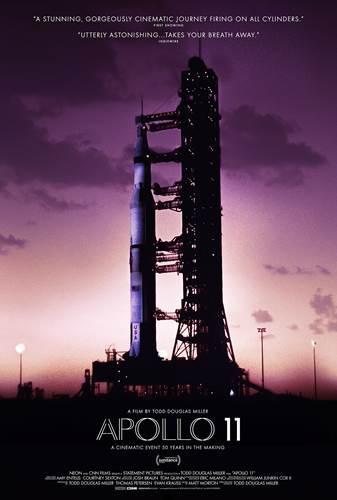 Ay'a ilk adımın gerçek görüntüleriyle hazırlanan Apollo 11 filminin fragmanı yayınlandı