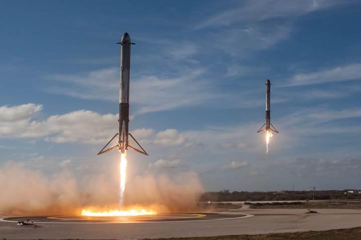 Dünyanın en güçlü roketi Falcon Heavy, tekrar uçmaya hazırlanıyor