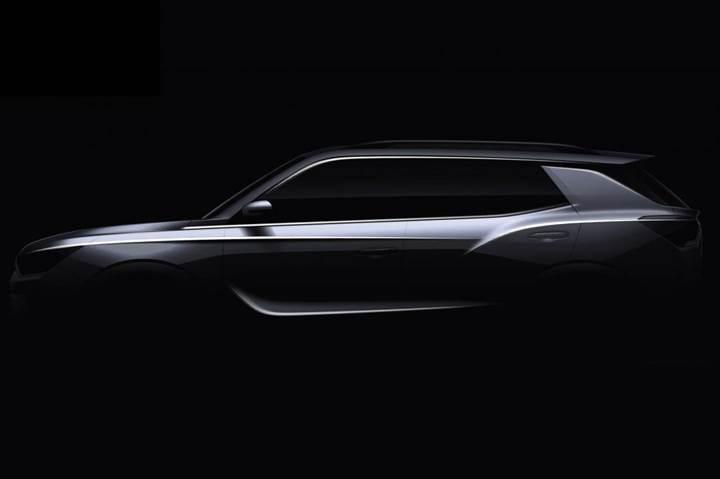2019 Ssangyong Korando SUV'un ilk teaser görseli yayınlandı