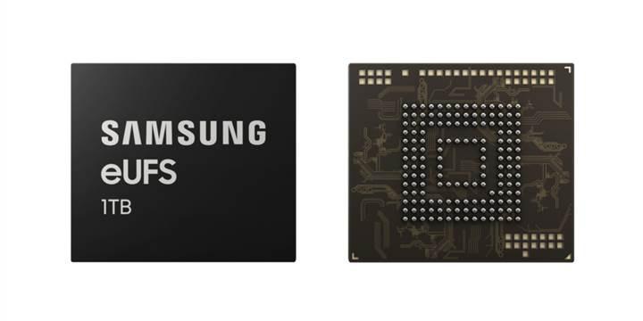 Samsung, akıllı telefonlar için 1 TB depolama yongası üretecek