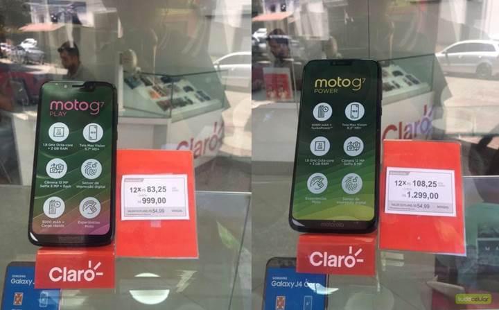 Moto G7 serisinin Brezilya'daki fiyatları ortaya çıktı