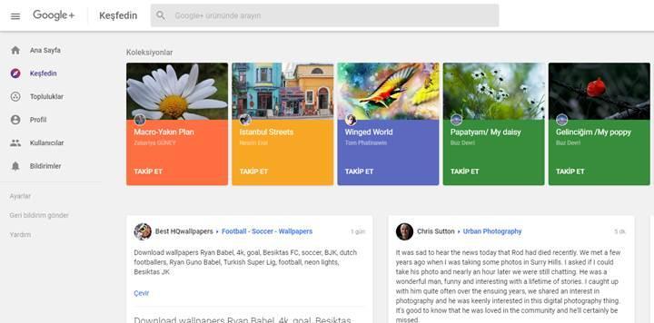 Google Plus, 2 Nisan tarihinden itibaren kapanıyor