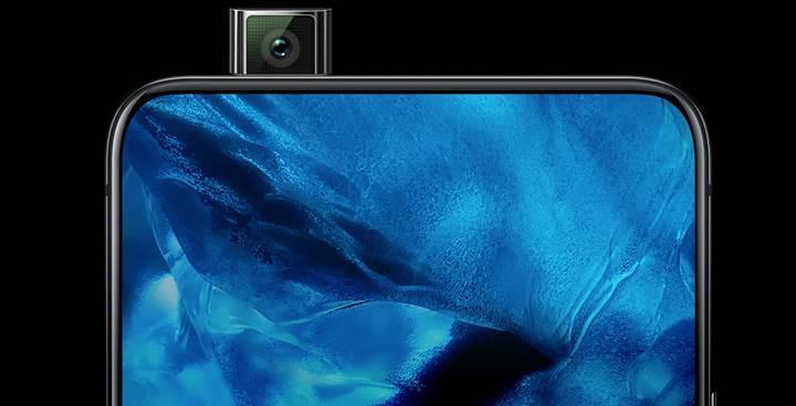 Samsung Galaxy A90, açılır-kapanır ön kamera