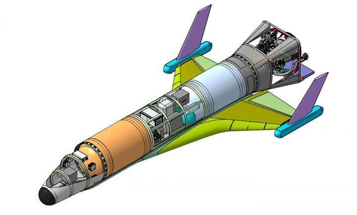 Rusya'nın hipersonik 'uzay uçağı' ortaya çıktı