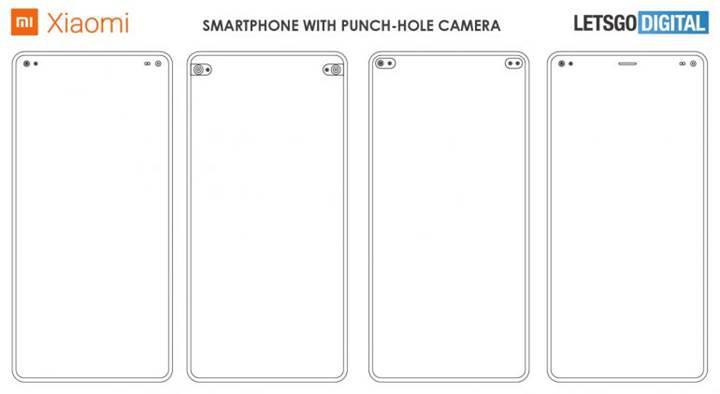 Xiaomi çift ön kamera deliğine sahip telefon patenti aldı