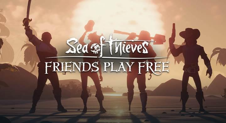 Sea of Thieves sahipleri, oyunu üç arkadaşına hediye edebilecek