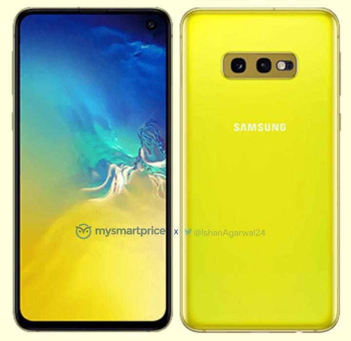 Samsung Galaxy S10e 'Kanarya Sarısı' rengiyle ortaya çıktı