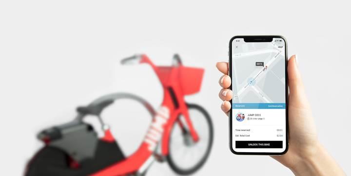 Uber'in bisiklet hizmeti popülerleşiyor