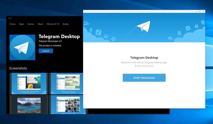 Telegram masaüstü uygulaması, yeni arka plan özellikleri ile güncellendi