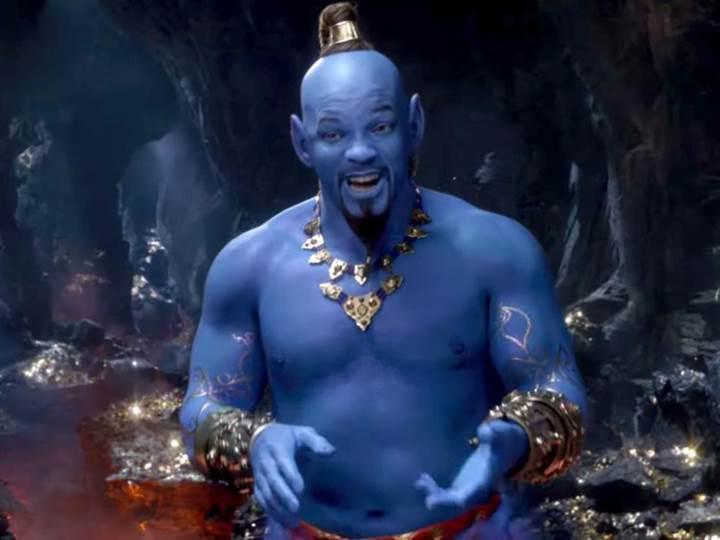 Aladdin filminin yeni fragmanı yayınlandı: Will Smith'in Cin'ine ilk bakış