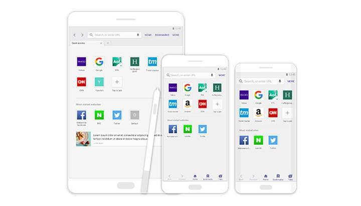 Samsung Android tarayıcısı 1 milyar kez indirildi