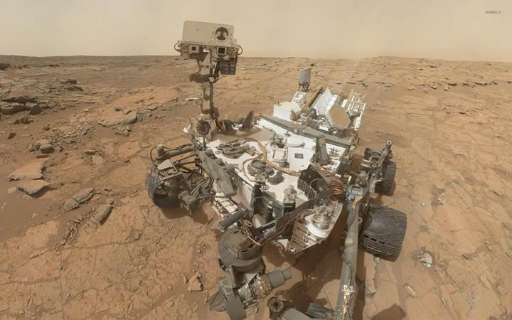 Curiosity'nin gönderdiği 360° videoyla Mars'ı keşfedin