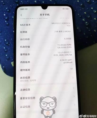 Xiaomi Mi 9 çalışır halde görüntülendi