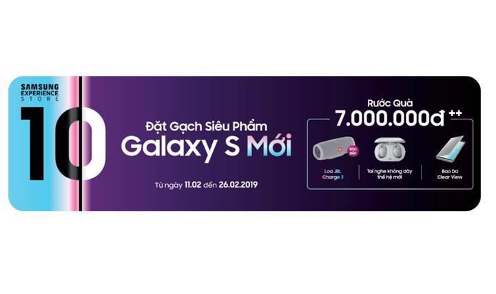 Samsung Galaxy S10 alana Galaxy Buds kulaklık