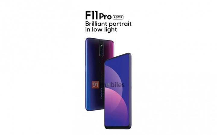 Oppo F11 Pro'nun fotoğrafları ortaya çıktı