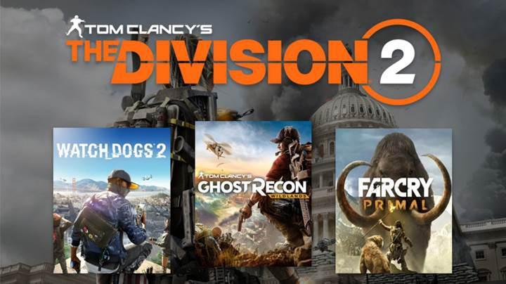 The Division 2'yi ön sipariş verenlere ücretsiz oyun hediyesi