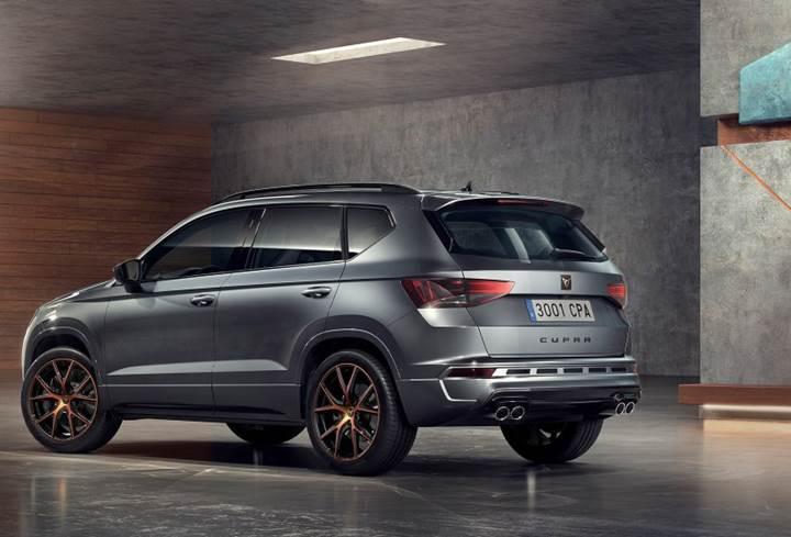 Seat'ın Cupra markası yeni SUV konseptinin görselini paylaştı