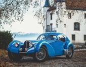 1936 Bugatti 57 Atlantic modifiée Erik Koux / 852,936 €