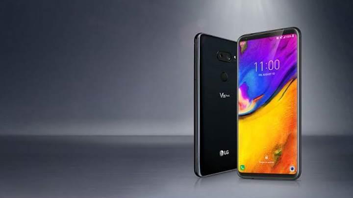 LG V50 ThinQ'nun basın görseli sızdırıldı