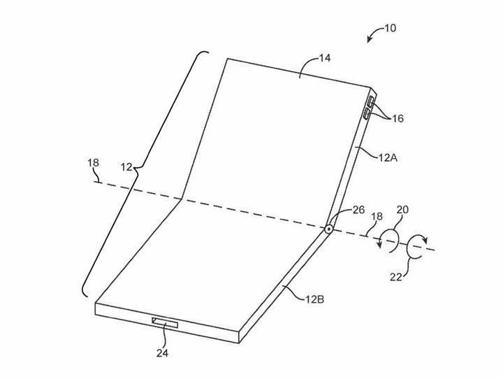 Apple'ın katlanabilir iPhone patenti ortaya çıktı