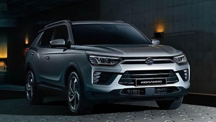 2019 SsangYong Korando SUV'un tasarımı ortaya çıktı