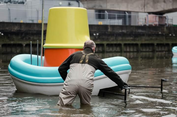 IKEA'nın büyük banyo oyuncakları nehirleri temizleyecek