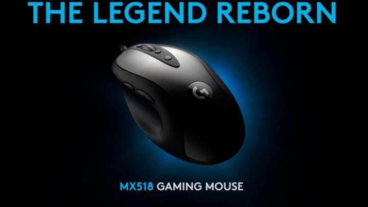 Logitech MX518 oyuncu faresi geri döndü