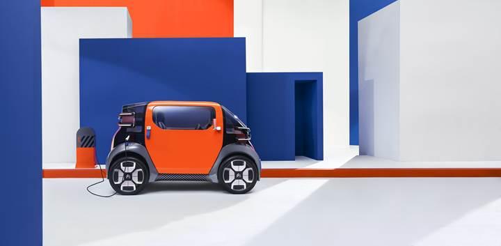 Citroen, elektrikli Ami One konseptiyle geleceğe hazırlanıyor