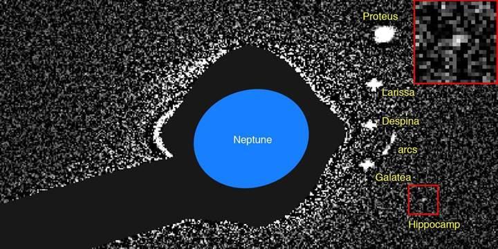 Neptün'ün yeni uydusu Hippocamp ile tanışın