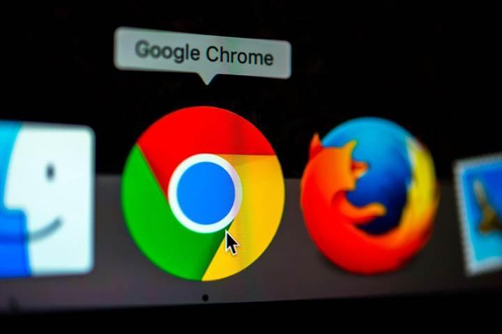 Chrome tarayıcısına