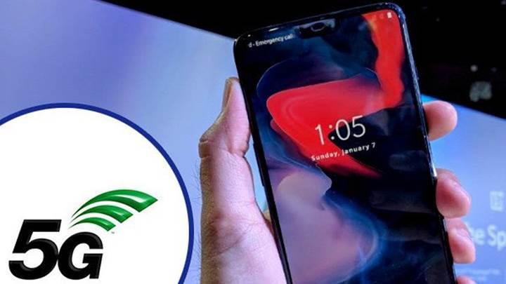 OnePlus'ın 5G özellikli telefonu 2019'un ikinci yarısında satışa sunulacak