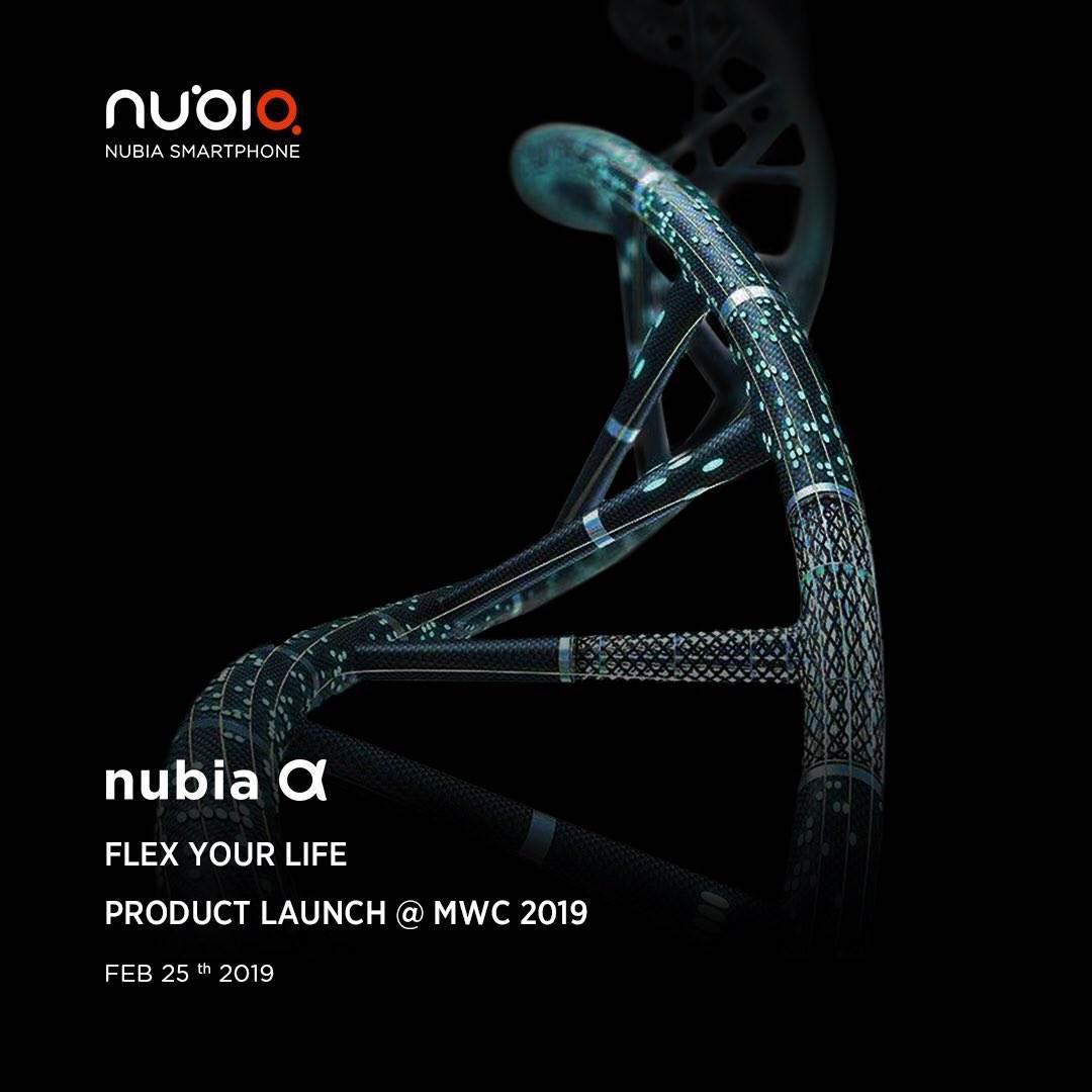 Nubia'dan giyilebilir akıllı telefon