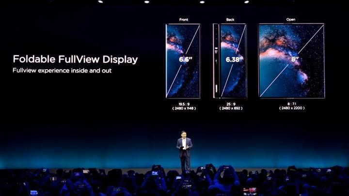 Huawei'nin katlanabilir telefonu Mate X tanıtıldı!