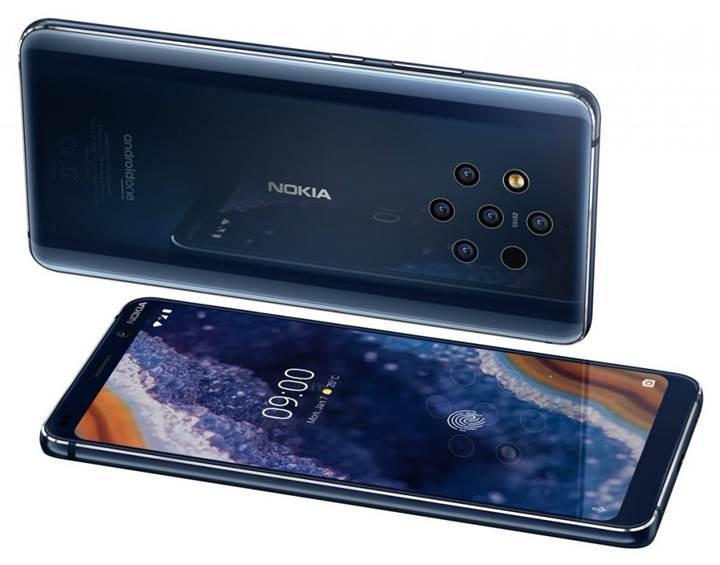 5 kameralı Nokia 9 PureView tanıtıldı