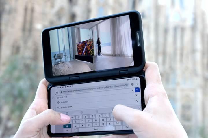 LG'nin ilk 5G telefonu V50 ThinQ duyuruldu