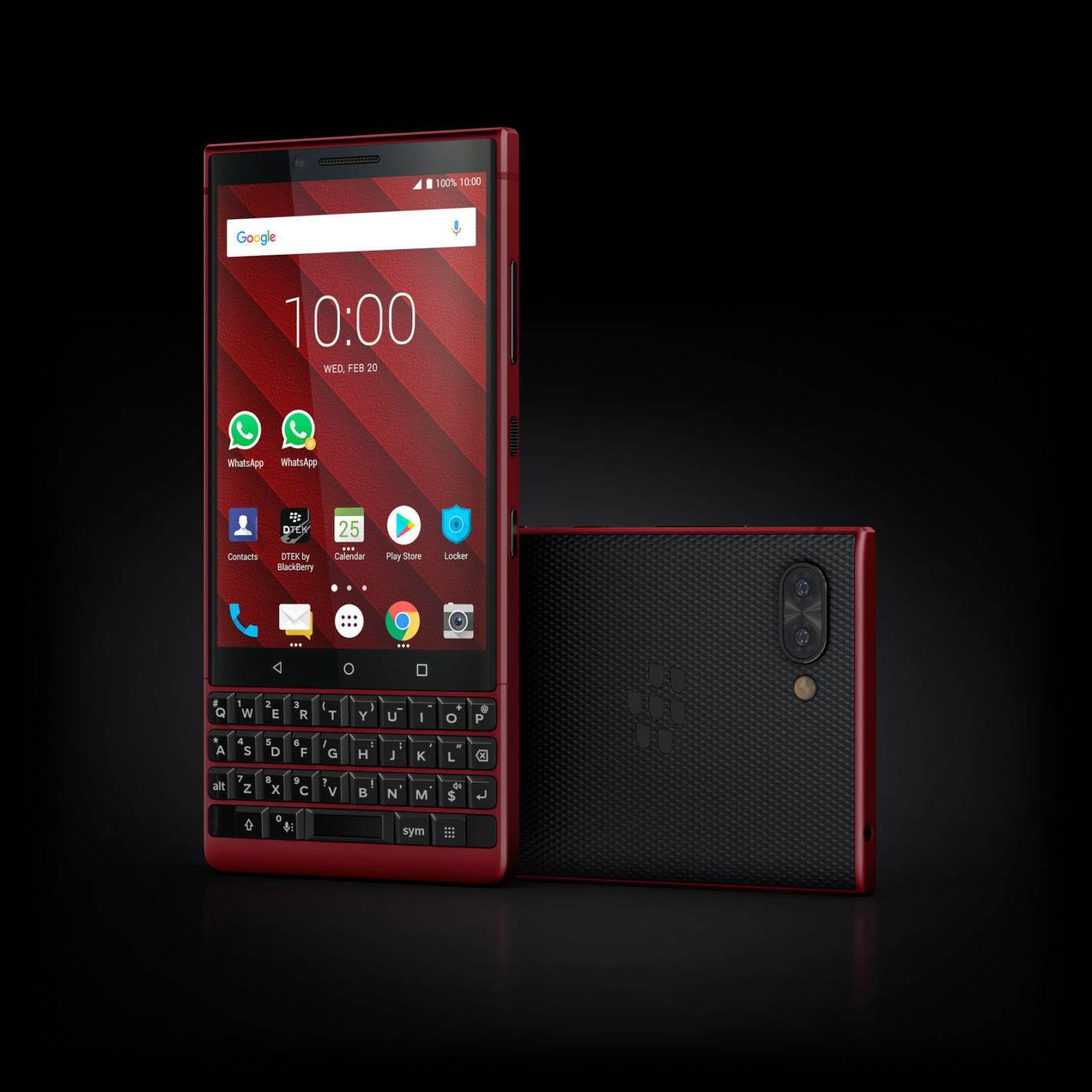 BlackBerry KEY2 Red Edition resmen tanıtıldı