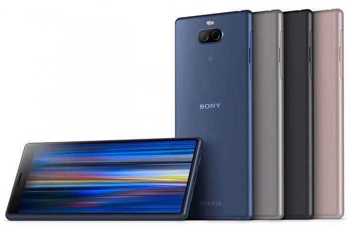 Sony, Xperia 10 ve 10 Plus modellerini duyurdu