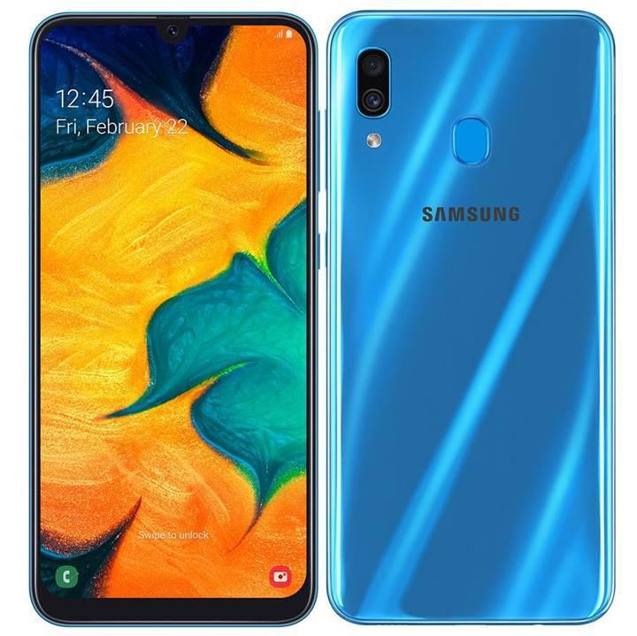 Infinity-U ekranlı Samsung Galaxy A30 resmen duyuruldu