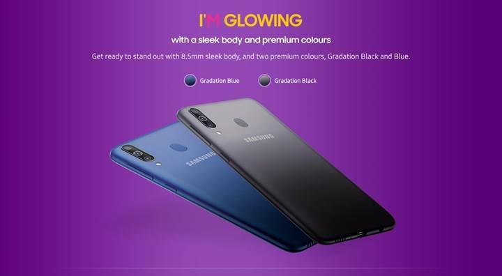 Super AMOLED ekranlı Samsung Galaxy M30 tanıtıldı