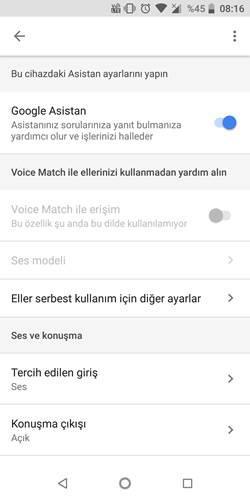 Google Asistan'ın Voice Match özelliği artık ekran kilidini açamayacak