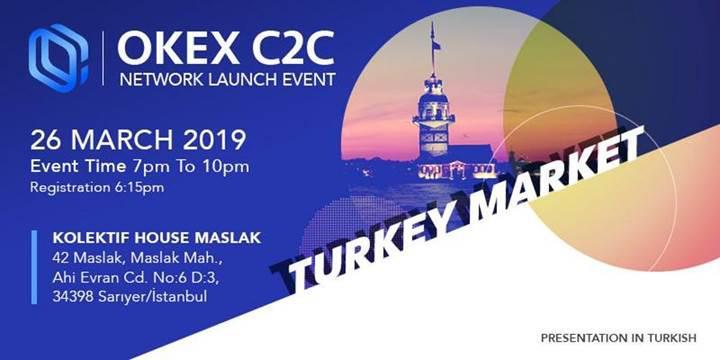OKEx borsası Türk Lirası ile işlemlere başlıyor, İstanbul'da bir konferans düzenliyor