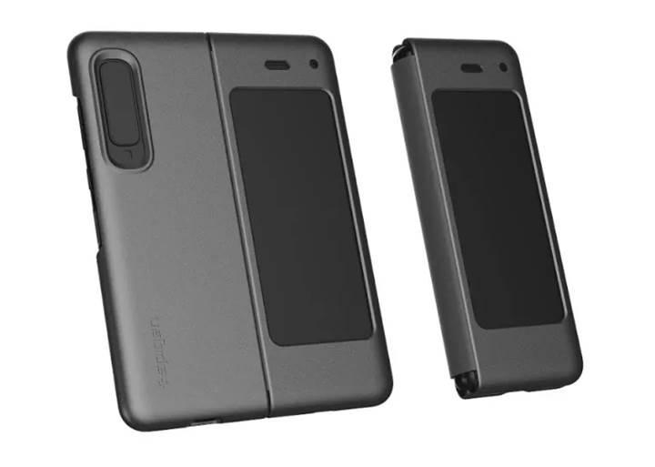 Samsung Galaxy Fold modelinin kılıfları böyle görünecek