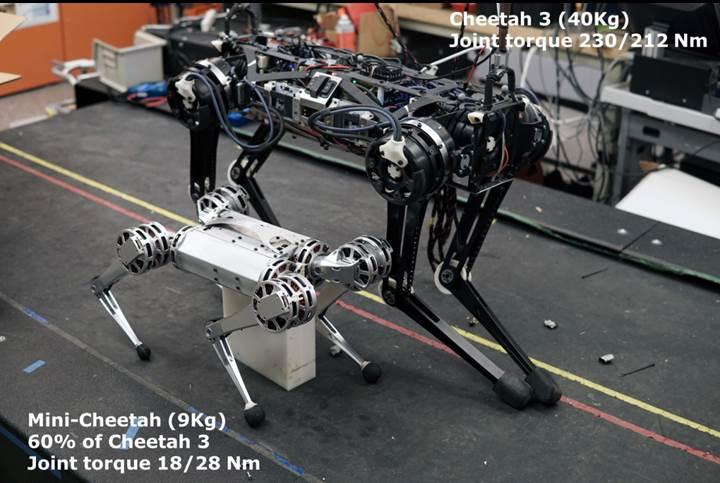 MIT'nin yeni robotu ters takla atabiliyor