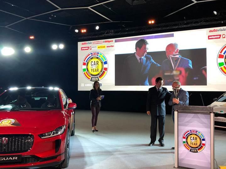Avrupa'da Yılın Otomobili Ödülü'nün sahibi Jaguar I-Pace oldu