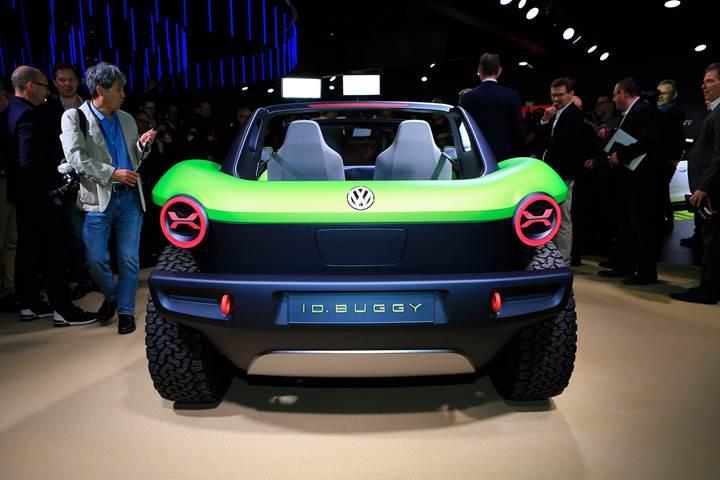 Volkswagen, 250 km menzile sahip elektrikli ID Buggy konseptini tanıttı