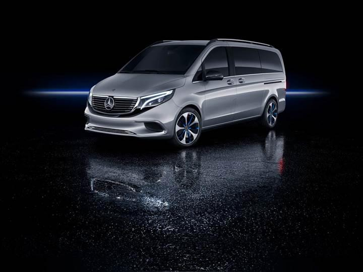 Mercedes elektriğe ısındı: İşte 400 km menzilli Mercedes-Benz EQV konsepti