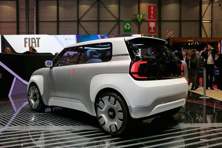 Yeni Fiat Panda böyle olacak: İşte elektrikli Fiat Centoventi konsepti