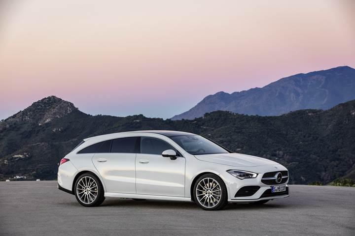 Yeni Mercedes CLA Shooting Brake Cenevre'de görücüye çıktı