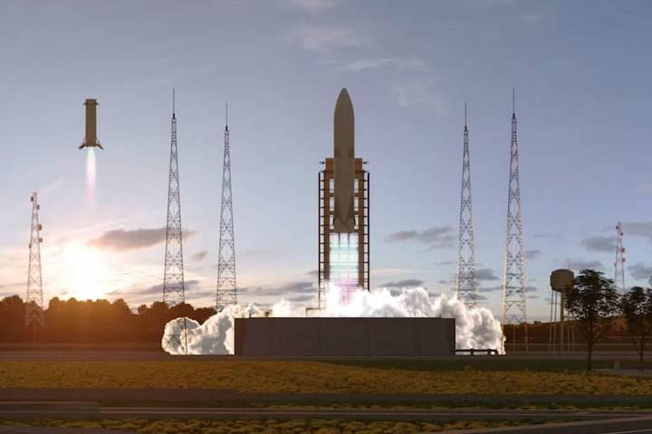 SpaceX'e Avrupa'dan rakip: İşte yeni nesil tekrar kullanılabilir roket
