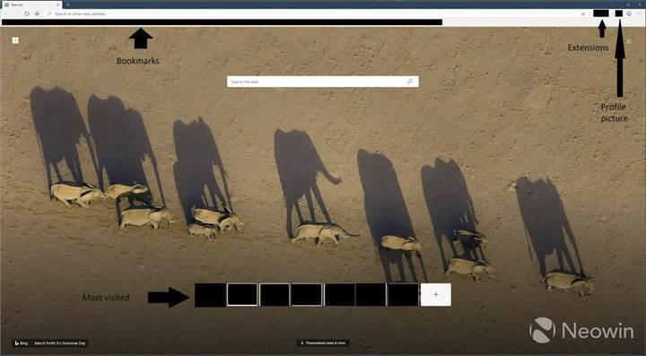Microsoft'un Chromium tabanlı tarayıcısının yeni ekran görüntüleri ortaya çıktı